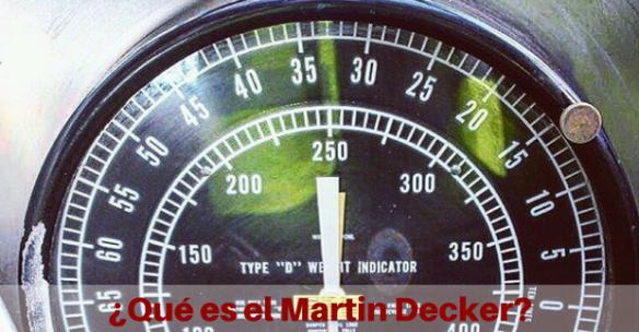 Marten Decker Load Indicator : Qué es el martin decker perforador